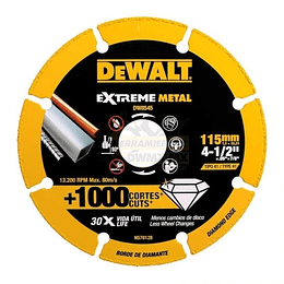 Disco de Corte Diamantado Dewalt DW8545 115mm