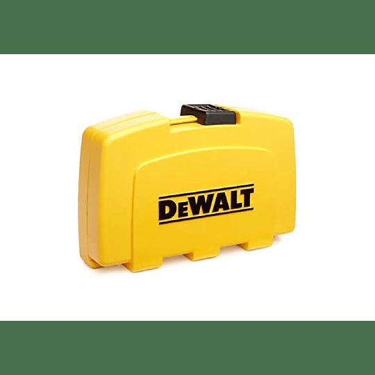 Set De 37 Piezas Con Guía Magnética Dewalt Dw2163