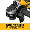 Esmeril Angular 4-1/2 20v Sin Batería Dewalt Dcg413b ( Solo Herramienta )