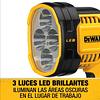 Linterna Luz Led Para Trabajo 20v Sin Batería Dewalt Dcl043