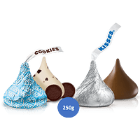 Mix Kisses Leche y Cookies and Cream 250g
