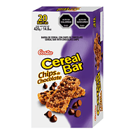 CerealBar Chips Chocolate 20x18gr.