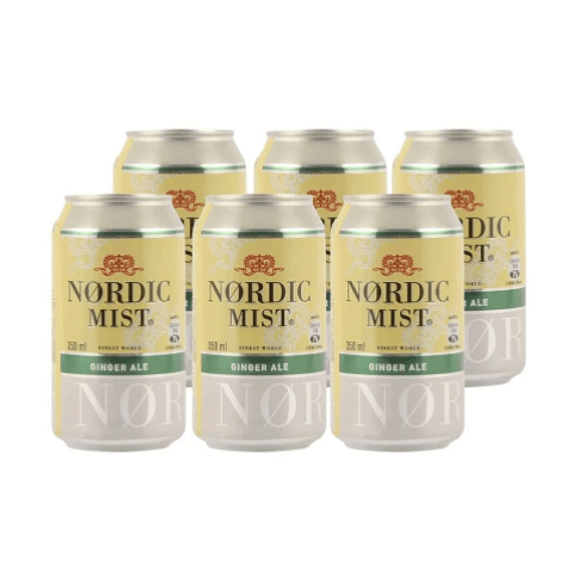 Nordic Ginger Ale 6 Pack 350ml