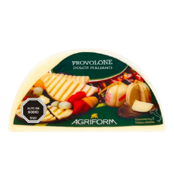 Queso Provolone Dolce Agriform 200gr.