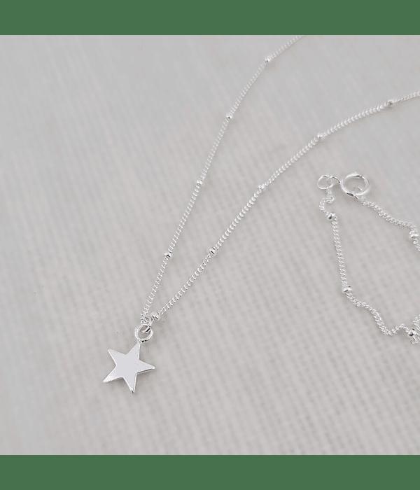 Cadena Estrella Plata