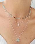 Cadena Estrella Plata S