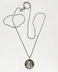 Collar Plata Oro Labradorita