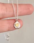 Cadena Corazón de Bronce S