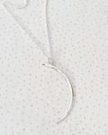 Collar Luna Creciente Plata L