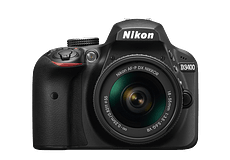 NIKON KIT D-3400 + AF-P DX Nikkor 18-55mm F3.5-5.6 G VR