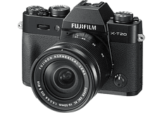 FUJIFILM KIT X-T20 BLACK + XC 16-50mm F3.5-5.6 OIS II Mirrorless