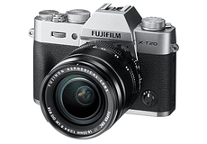 FUJIFILM KIT X-T20 SILVER + XF 18-55mm F2.8-4 R LM OIS Mirrorless