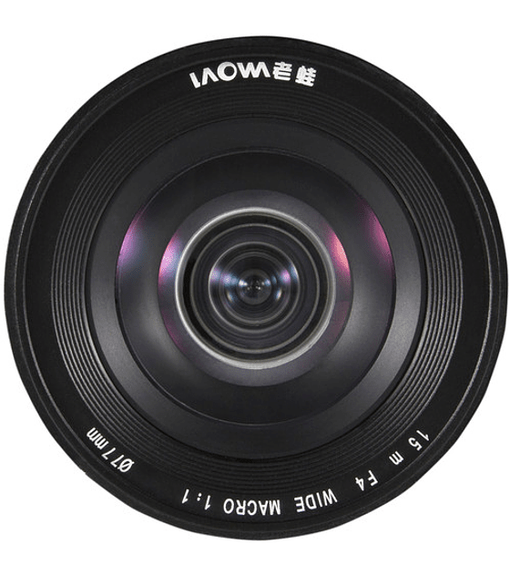 Venus Optics LAOWA para Canon 15mm F 4  MACRO 1:1