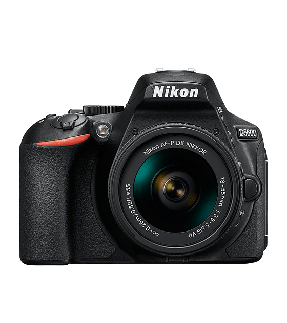 NIKON KIT D-5600 + AF-P DX Nikkor 18-55mm + 70-300mm