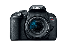 CANON EOS REBEL T7 i + EF-S 18-55mm f4-5.6 IS STM