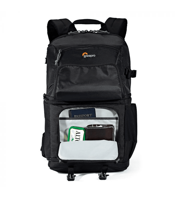 LOWEPRO Fastpack BP 250 AW II color negro.