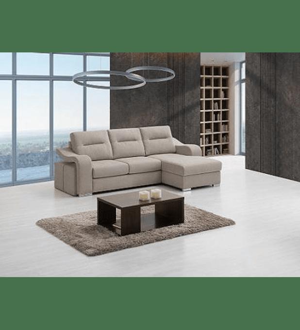 Sofá Ozzy 3 Lugares e Chaise