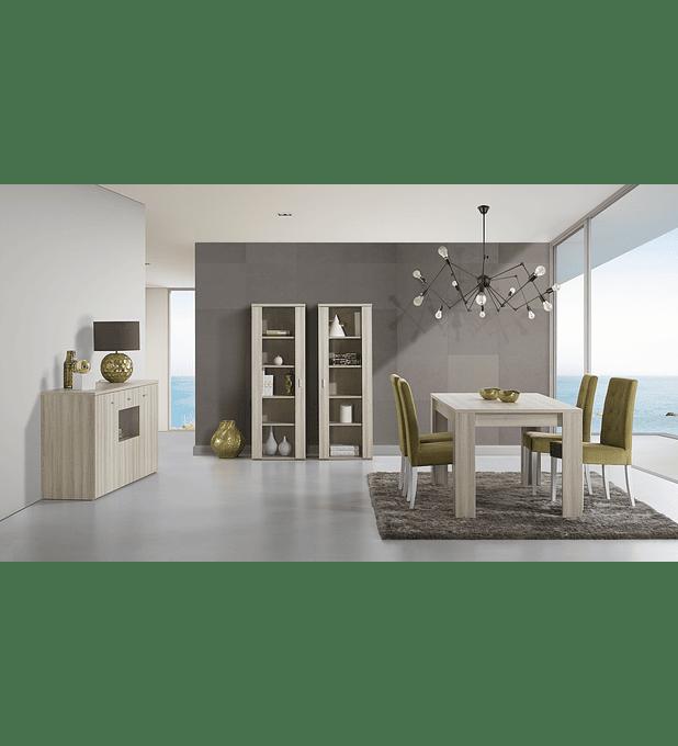 Sala de Jantar Completa Eco Oak