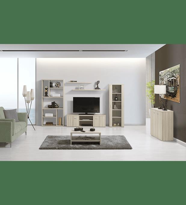 Sala de Estar Completa Eco Oak