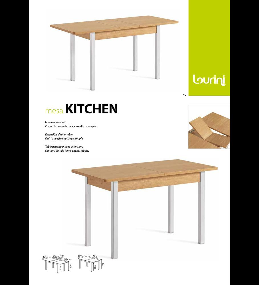 Mesa Extensível Kitchen