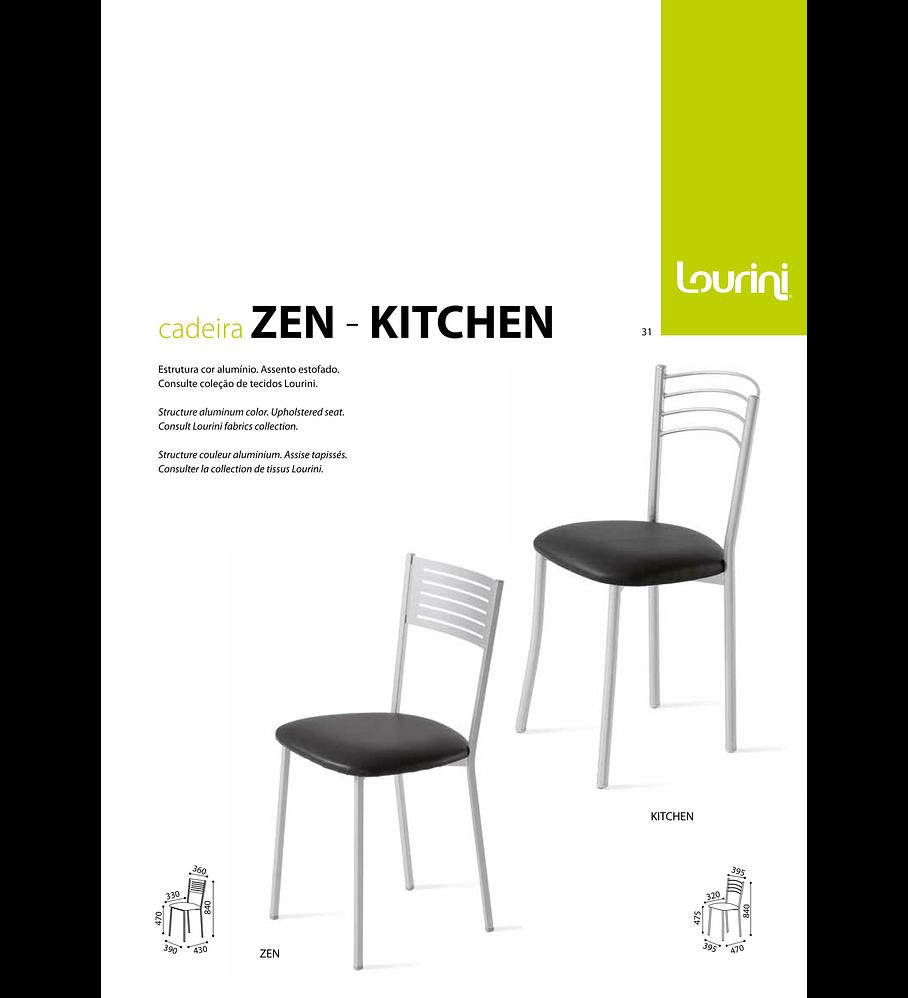 Cadeira Zen Kitchen / Zen