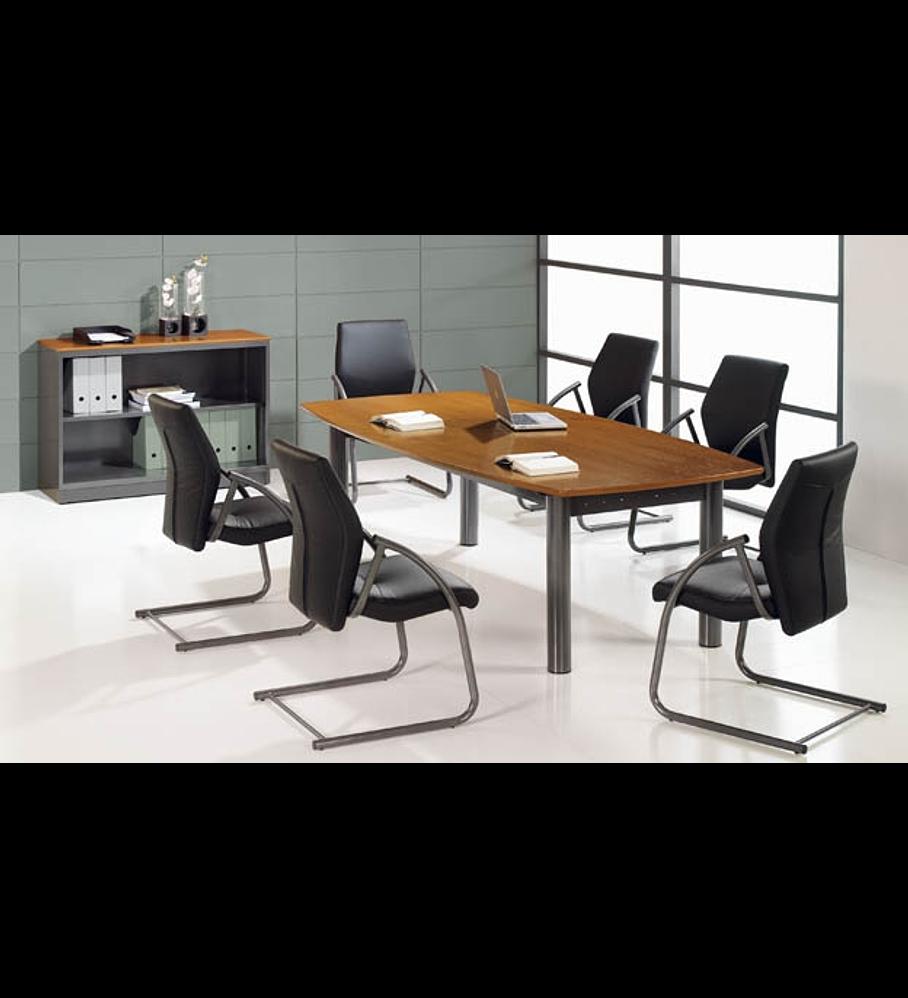 Mesa Reunião Oval Executivo 4P