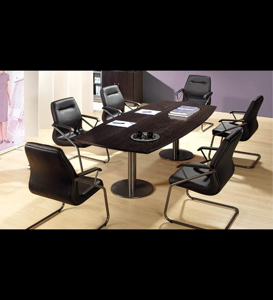 Mesa Reunião Oval Executivo 2P