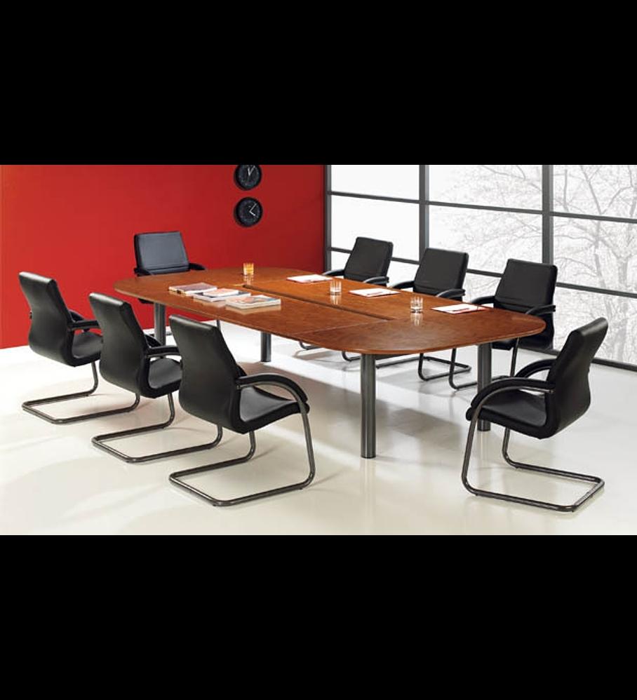 Mesa Reunião Oval Executivo AM 4P
