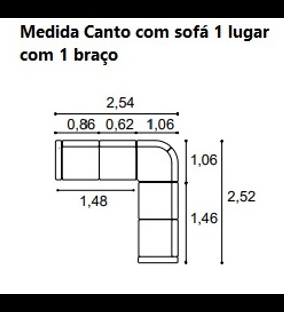 Sofá Canto Marli S/T