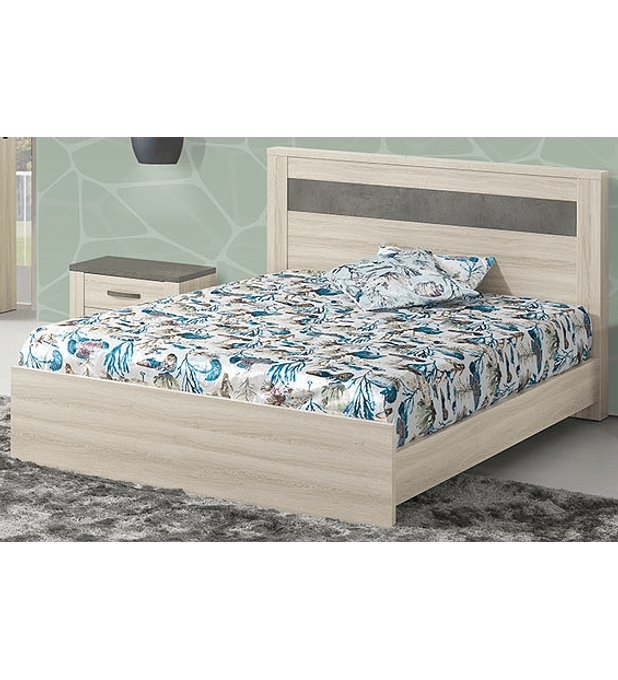 Cama Casal Estoril Oak