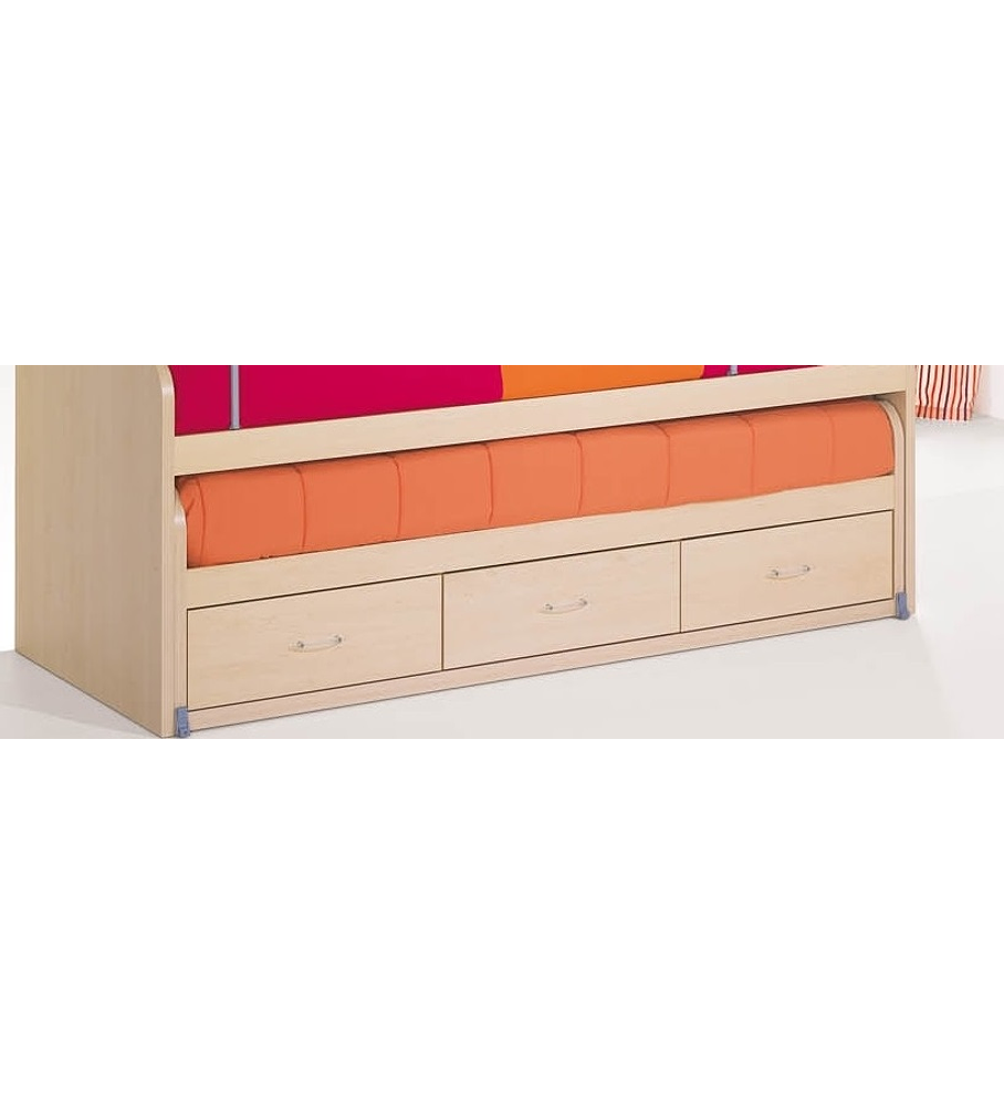 Cama Inferior Compacta Kids Maple