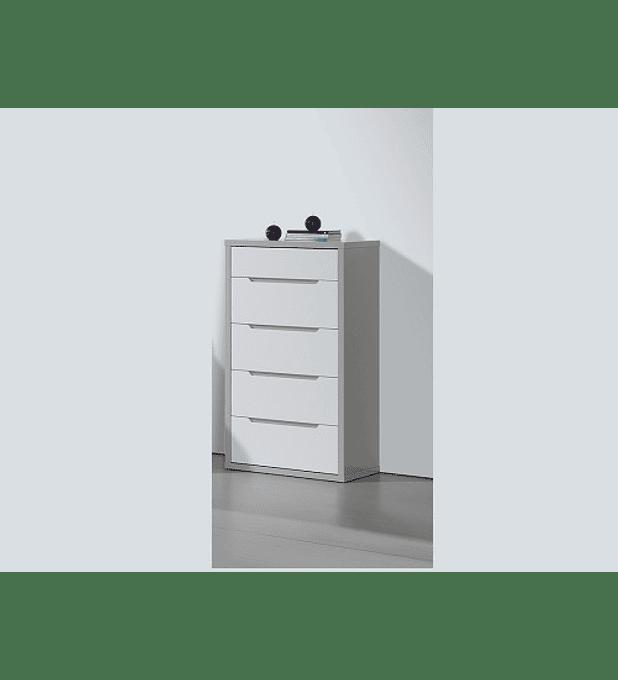 Camiseiro Viena Cinza Branco