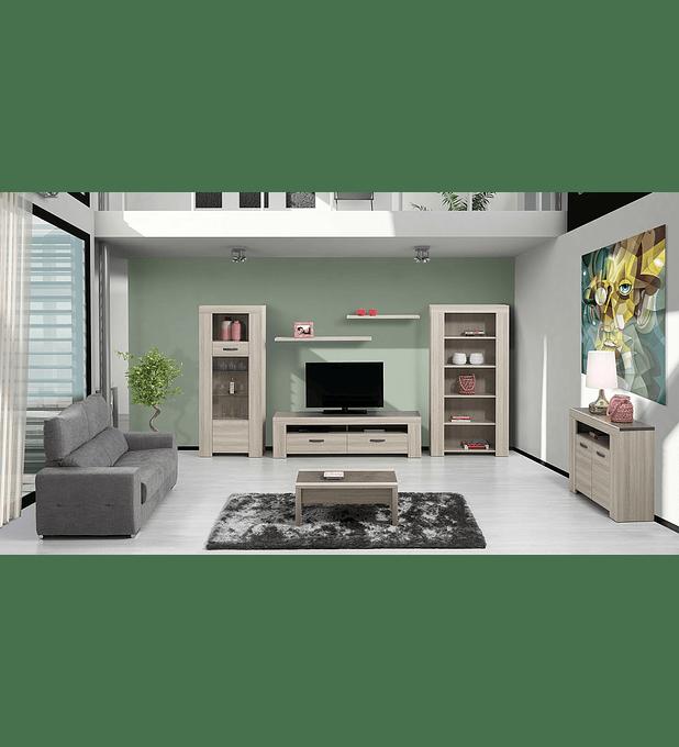 Sala de Estar Completa Estoril Oak