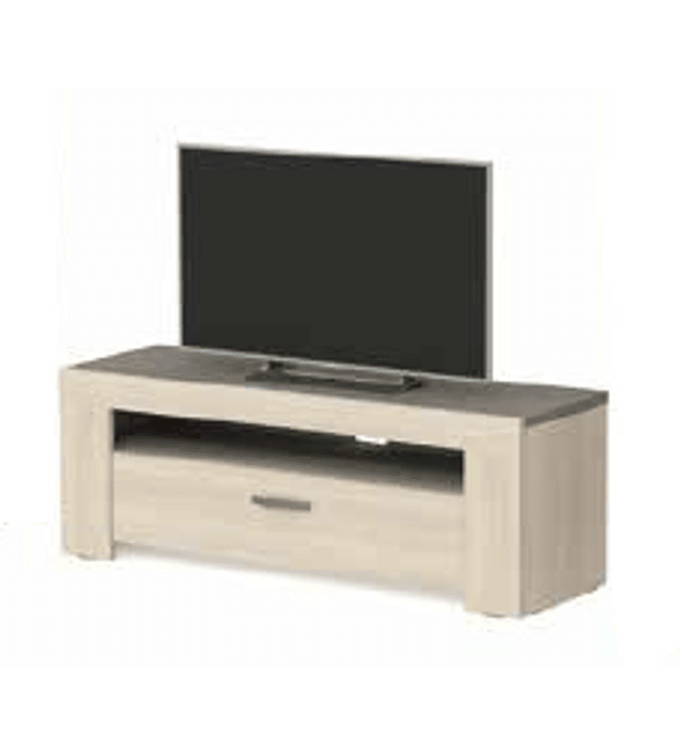 Base TV Estoril Oak 140cm e 1 Gaveta