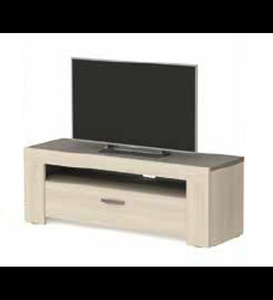 Base TV Estoril Oak 140cm e 1 Gaveta