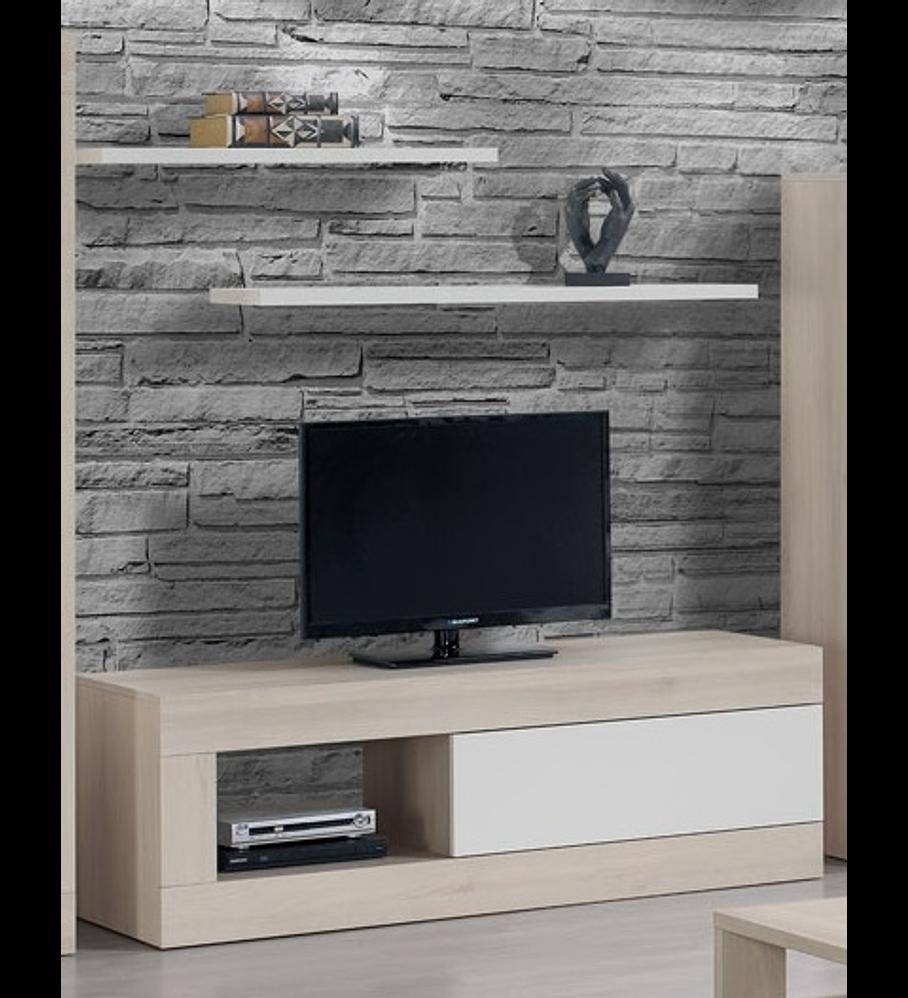 Base TV Madrid Carvalho Branco 155cm