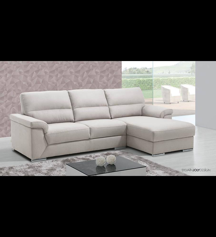Sofá Monika 3 Lugares e Chaise