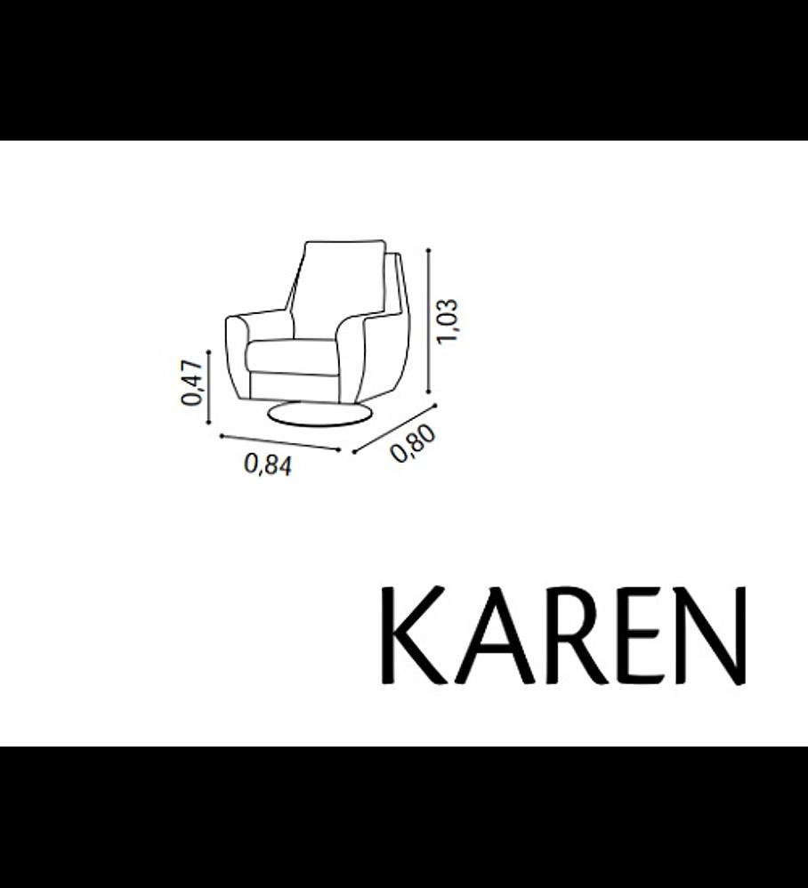 Cadeirão Karen