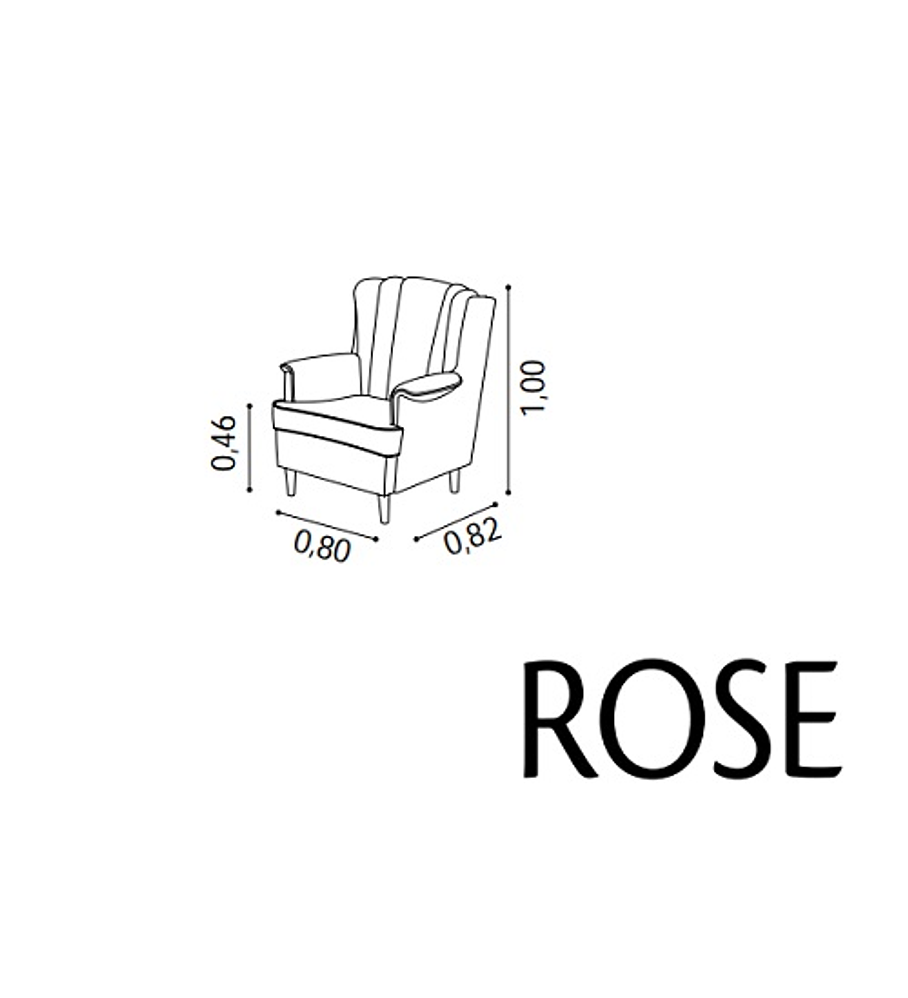 Cadeirão Rose