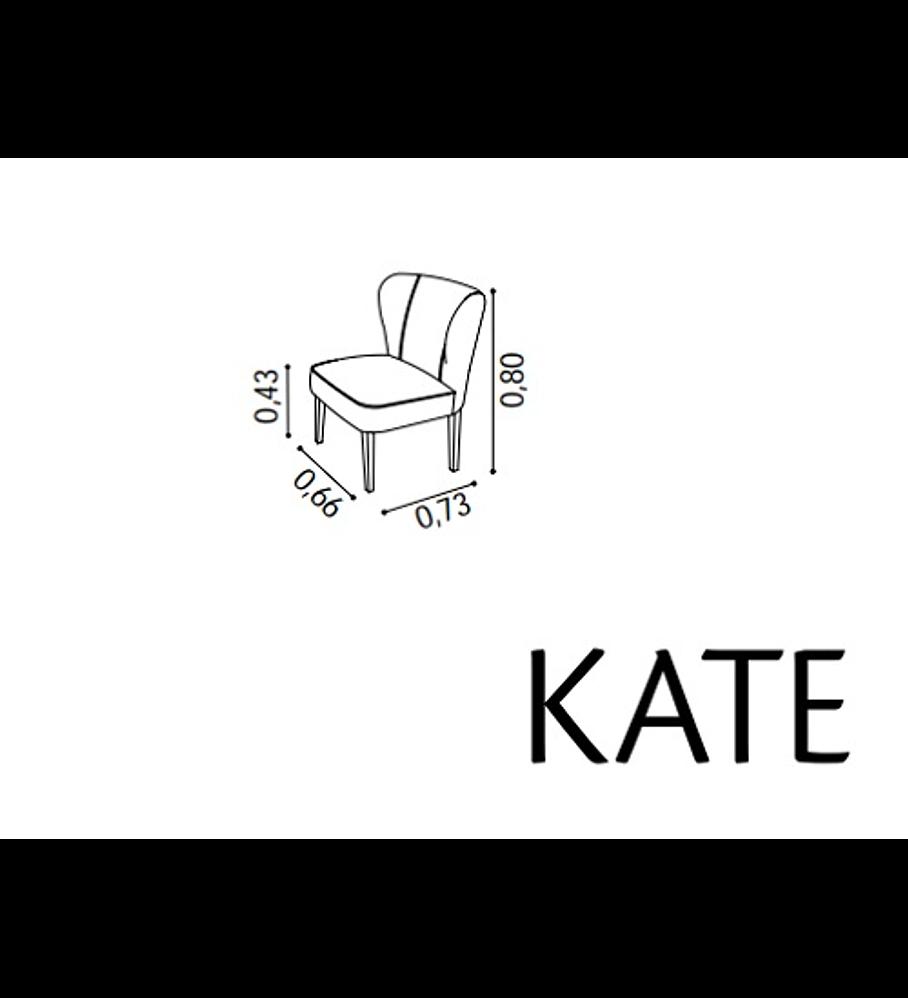 Cadeirão Kate Florença Cinza Rústico