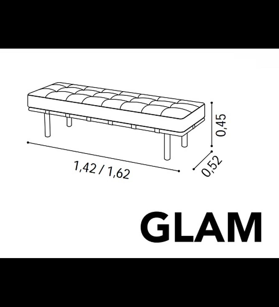 Banqueta Glam 140