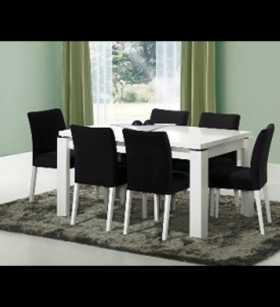 Mesa Sala Baviera Branco