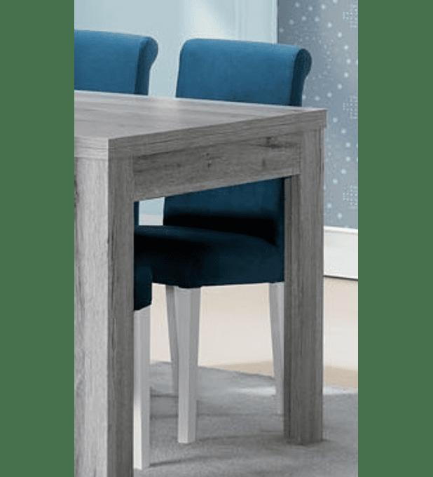 Cadeira Florença Cinza Rústico