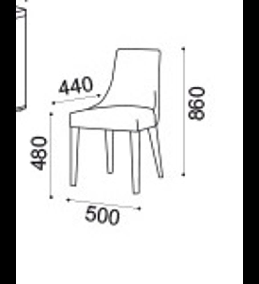 Cadeira Sky Cerejeira