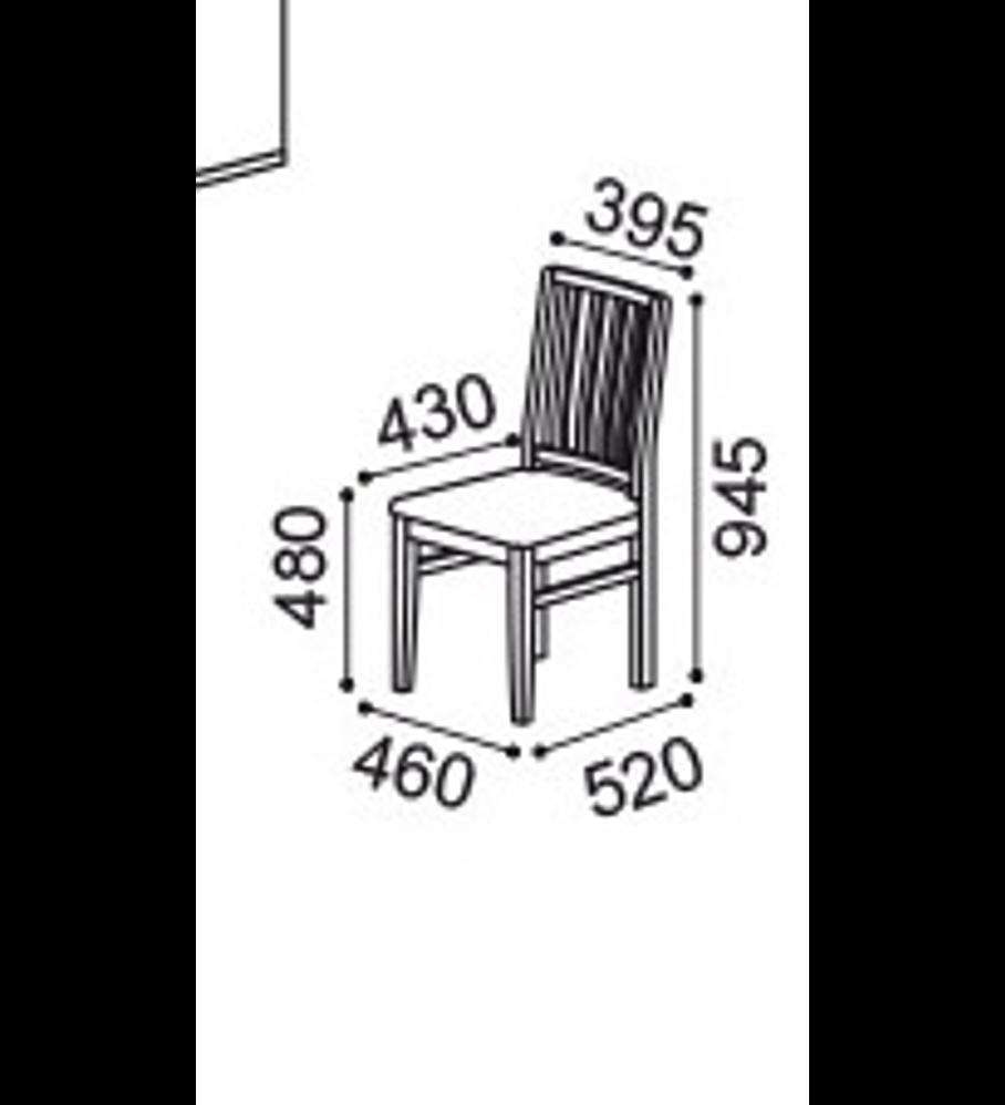 Cadeira Ambar Viena Nogueira Montana