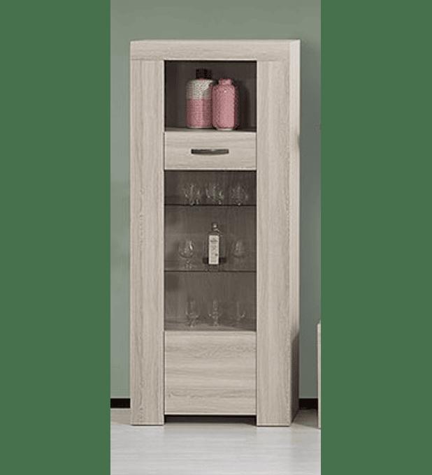 Cristaleira Estoril Oak
