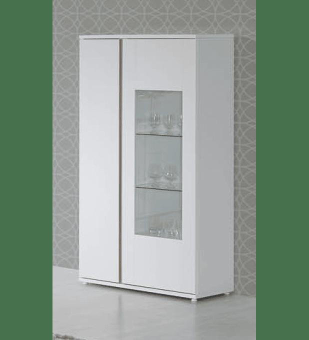 Cristaleira Chiado Branco Carvalho