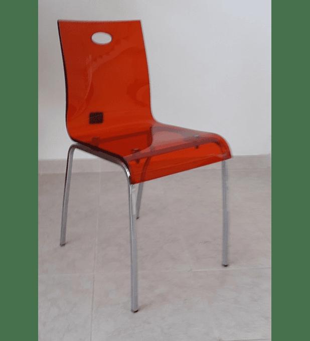 Cadeira Cromada