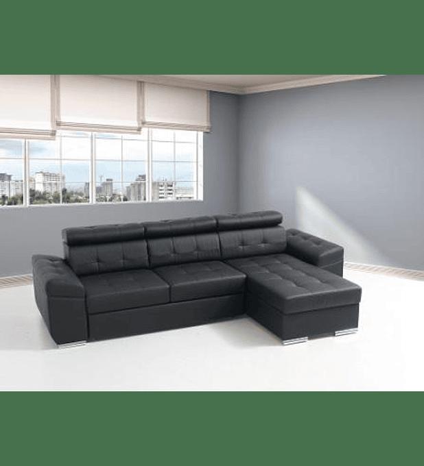 Sofá Eros 3 Lugares e Chaise