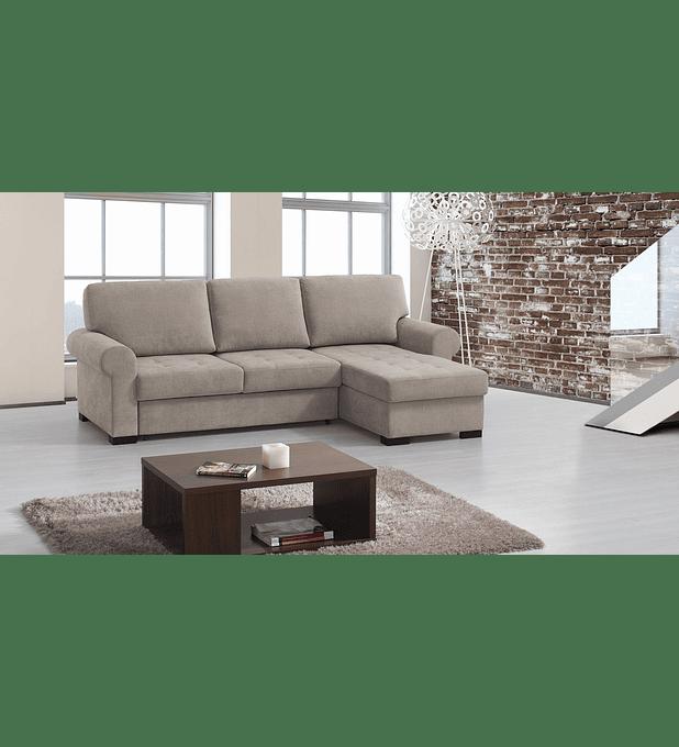 Sofá Teles 3 Lugares e Chaise